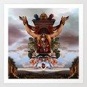 Sacrifice to Huitzilopochtli Art Print