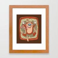 Kitty Litter Joy Framed Art Print