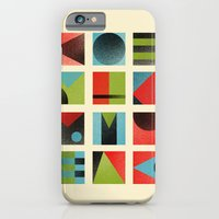 iPhone & iPod Case featuring Squares by Farnell