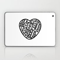 Iron Heart (B&W Edition)… Laptop & iPad Skin