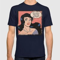 Internet Comic Mens Fitted Tee Navy SMALL