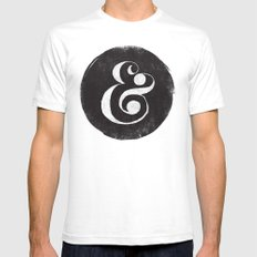 AMPERSAND SMALL Mens Fitted Tee White