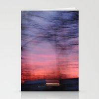 Sunset In Cincinnati Stationery Cards