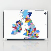 England, Ireland, Scotla… iPad Case