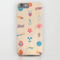 iPhone Cases featuring HURTFUL  by ICE CREAM FOR FREE