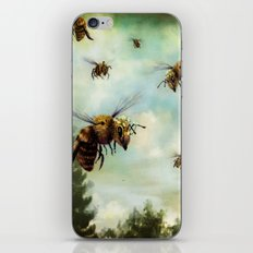 Crown of Bees iPhone & iPod Skin