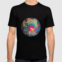 Sunrise Mens Fitted Tee Black SMALL