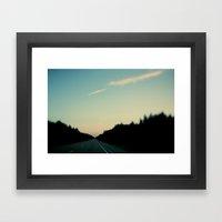 Northbound Framed Art Print