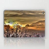 Sunrise in the Mountains Laptop & iPad Skin