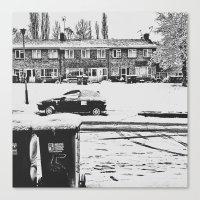 Snowy Silence  Canvas Print