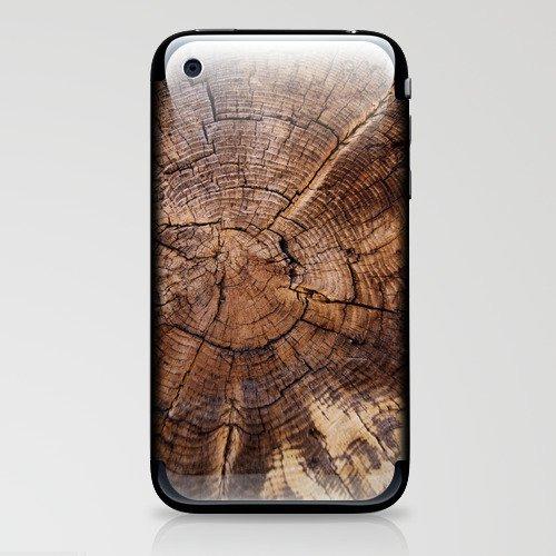 knock on wood iPhone & iPod Skin