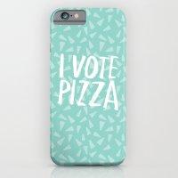 I Vote Pizza  iPhone 6 Slim Case
