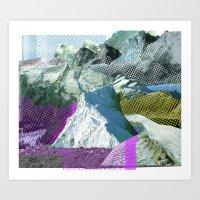 Experiment Am Berg 17 Art Print