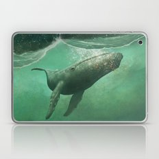 The Whale & The Moon Laptop & iPad Skin