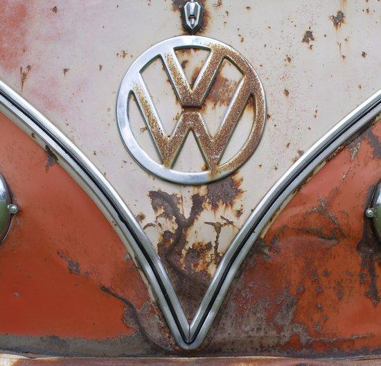 Rusty VW Art Print