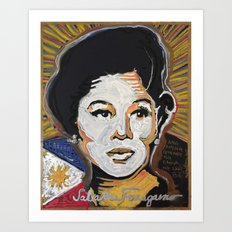 Our Lady Of Size 8 1/2 Art Print