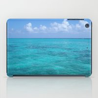 Caribbean Blues iPad Case