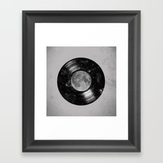Galaxy Tunes Framed Art Print
