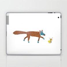 fox and the duck Laptop & iPad Skin
