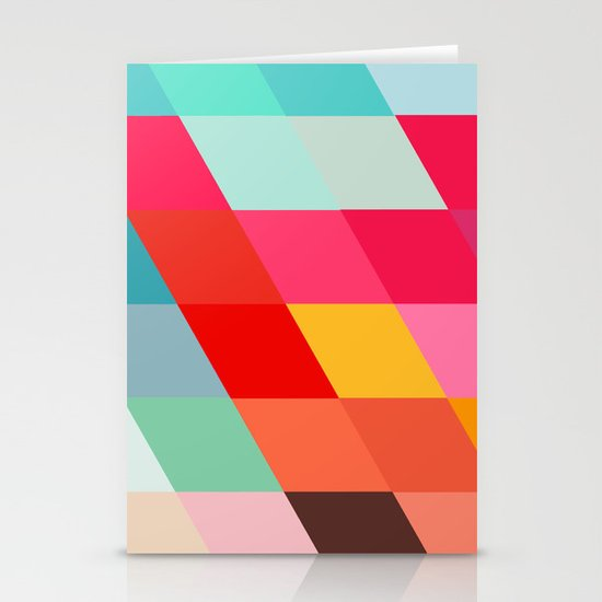 Squared Stationery Card