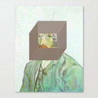 Vincent In A Box 1 Canvas Print