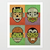 Monster Mash Art Print