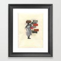 Red Ride Framed Art Print