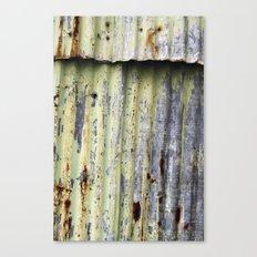 the crack Canvas Print
