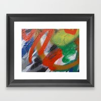 Rap Sprays Framed Art Print
