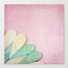 Bone Heart Canvas Print