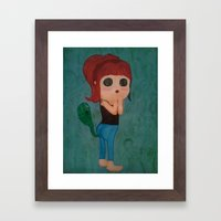 Farts Are The Ghosts Of … Framed Art Print