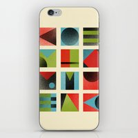 Squares iPhone & iPod Skin