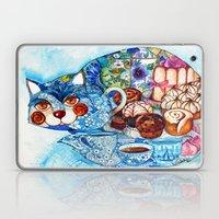 Earl Grey tea cat Laptop & iPad Skin