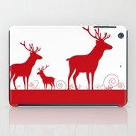 Christmas Deers iPad Case