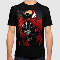 Spawn Mens Fitted Tee Black SMALL