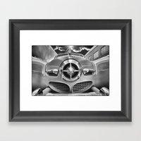 Studebaker and Trains Framed Art Print