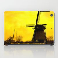 Dutch Windmill iPad Case