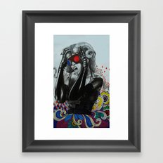 Delusions Of Sofia Framed Art Print