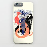 iPhone & iPod Case featuring The Knight, Death, & the Devil by Andrew Henry