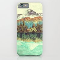 collage iPhone & iPod Cases featuring The Unknown Hills in Kamakura by Kijiermono