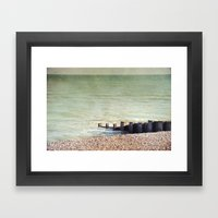 A Place To Think Framed Art Print