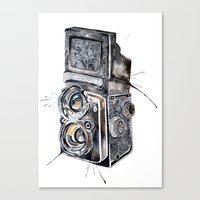 Camera Happy  Canvas Print