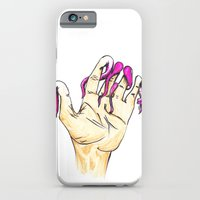 iPhone & iPod Case featuring Tentacle Fingers by DClemDesigns