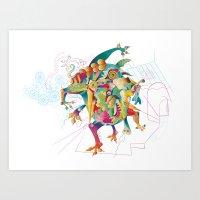 The Dream Eater #2 Art Print