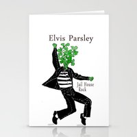 Elvis Parsley Stationery Cards