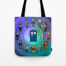 O'Clocktor Who Tote Bag
