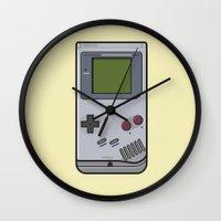 #44 Nintendo Gameboy Wall Clock