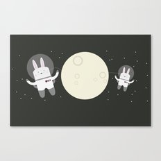 Astro Bunnies Canvas Print