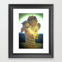 Nana's Angels Framed Art Print