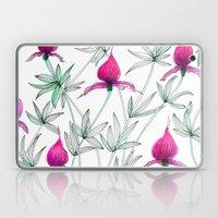 Small Purple Flowers Laptop & iPad Skin